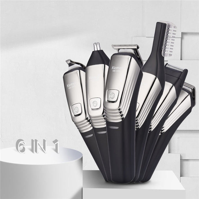 6 In 1 Professional Beard Trimmer