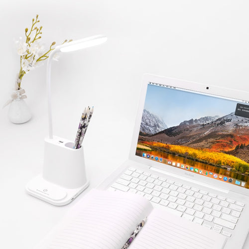 Study Desk Lamp with USB Port - Dimmable light