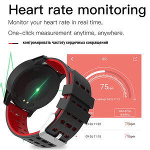 Activity Tracker Watch-Heart Rate Monitor-Step & Calorie Counter