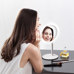 "Modern Vanity Mirror with Brightness 8"" Round"
