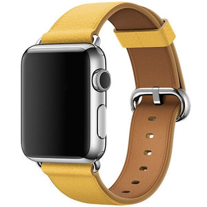 Modern Leather Apple Watch Band