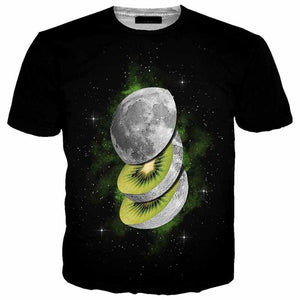 Space Kiwi Men T-shirt