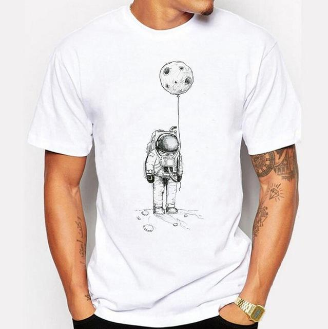 The Lonely Astronaut Men T-shirt