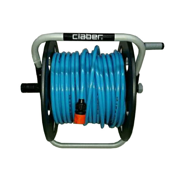 Hose reel with 50m of
