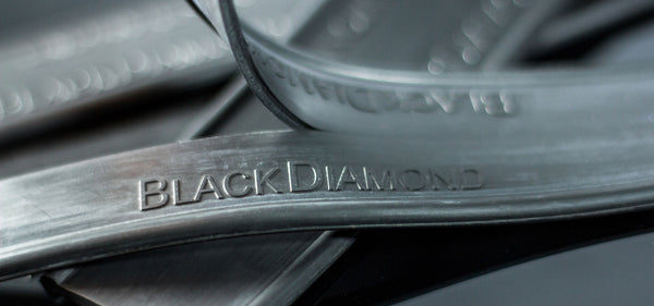 Black Diamond Rubber (Round top)