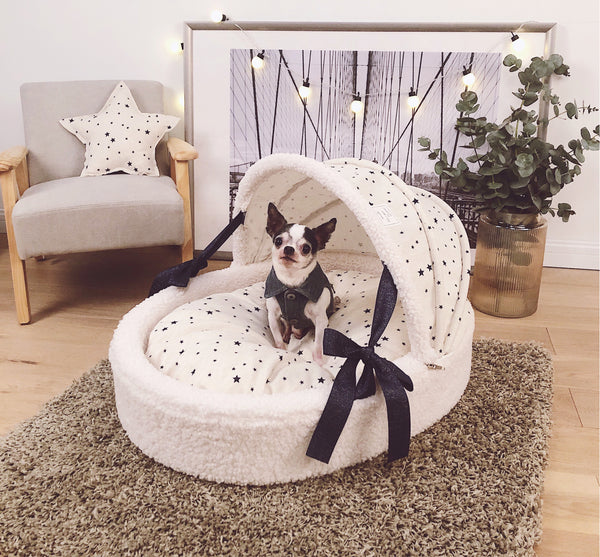Princess Star Durable Deep Sleep Indoor Pet Bed For Small Medium Dogs - Pawsmeme.com
