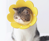 Flower Petal Ultrathin Soft Pet Recovery Cone After Surgery Protective Elizabethan E-Collar For Small Medium Large Cats