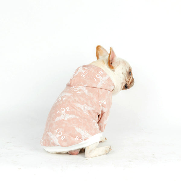 London Boy Street Fashion Fall Winter Sweater Zipper Hoodie Costume For Small Medium Dogs - Pawsmeme.com