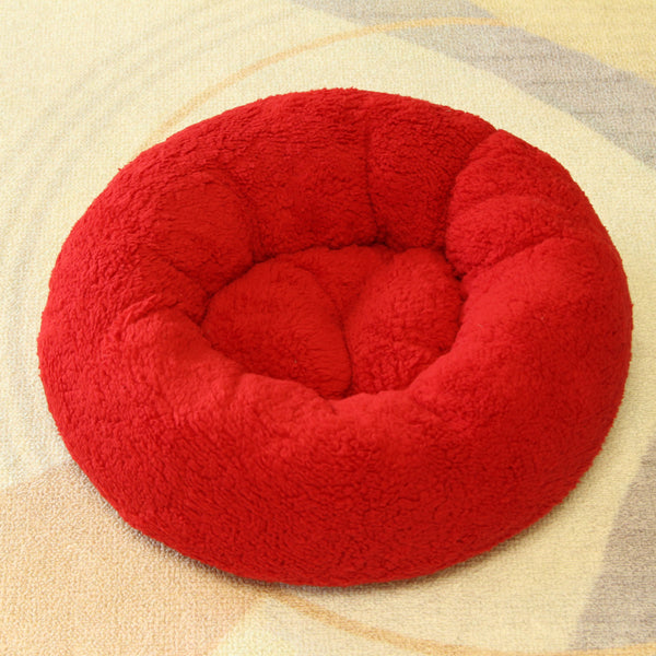 Candy Pop Cozy Extra Soft Cushion Indoor Pet Bed For Small Medium Dogs - Pawsmeme.com