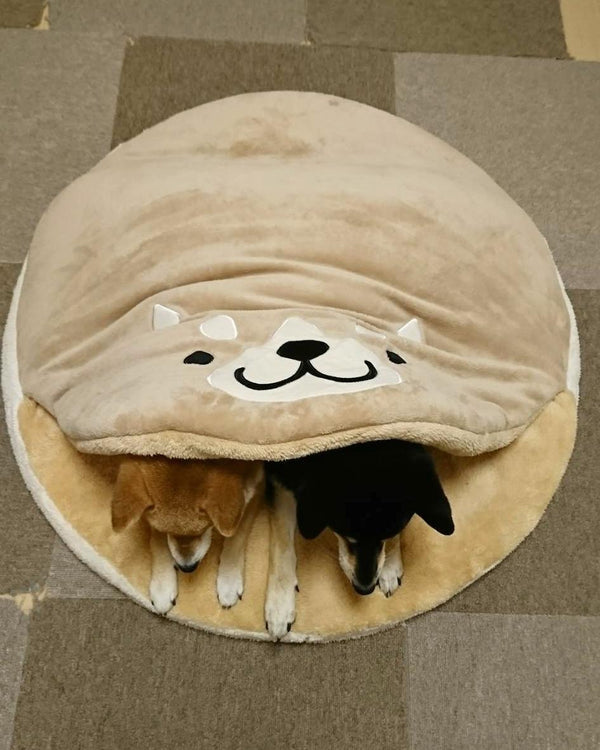 Cutest Bear Blanket Tuck In Warm Indoor Pet Bed For Small Medium Large Dogs - Pawsmeme.com