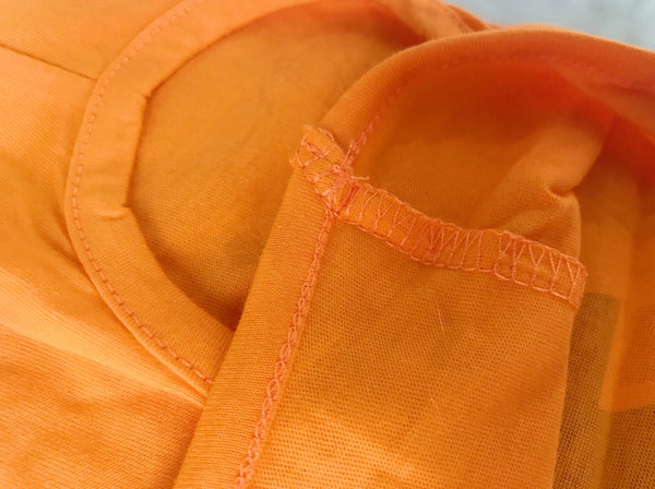 Tide Style Orange Summer Cotton Hoodie Costume For Small Medium Dogs - Pawsmeme.com
