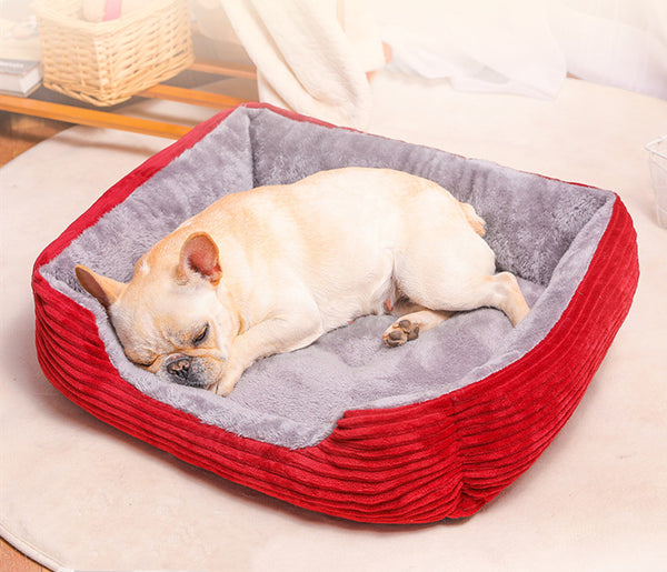 Extra Soft Cushion Deep Sleep Indoor Pet Bed For Small Medium Large Dogs - Pawsmeme