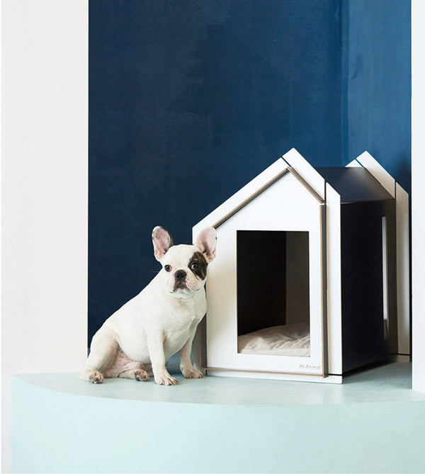 Minimalism Cushion Easy Clean Designer Indoor Pet House For Small Medium Dogs - Pawsmeme.com