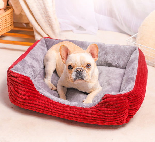 Extra Soft Cushion Deep Sleep Indoor Pet Bed For Small Medium Large Dogs - Pawsmeme.com