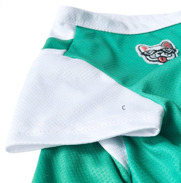 Starbucks Style Green Cooling Summer Thin Shirt Costume For Small Medium Dogs - Pawsmeme.com