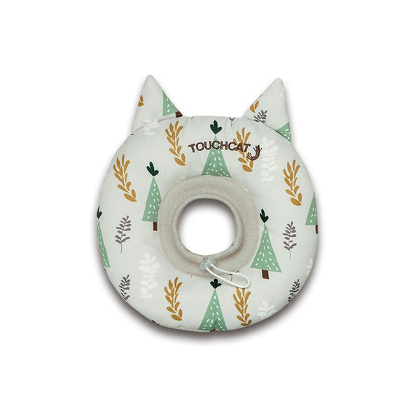 Ice Cream Velcro Soft Pet Recovery Cone After Surgery Protective Elizabethan E-Collar For Small Medium Large Cats