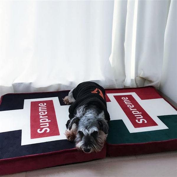 Supreme Style Street Fashion Soft Cushion Deep Sleep Indoor Pet Bed For Small Medium Dogs - Pawsmeme