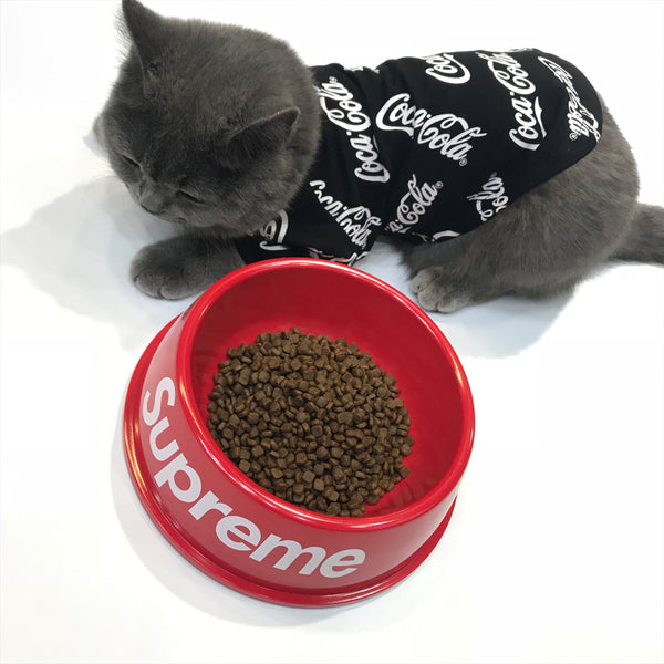 Supreme Style Classic Easy Clean Designer Pet Feeding Bowl For Small Medium Dogs & Cats - Pawsmeme.com
