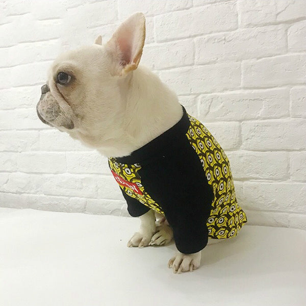 Minions Street Fashion Cool Summer Cotton Shirt Costume For Small Medium Dogs - Pawsmeme.com