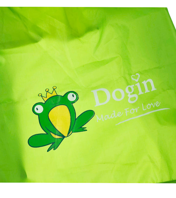 Green Frog Cute Raincoat Easy Wear Full Protection For Small Medium Dogs - Pawsmeme.com