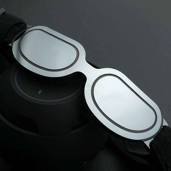 Laser Reflective Windproof Protection FBI Agent Sunglasses Pet Props for Small Medium Cats - Pawsmeme.com