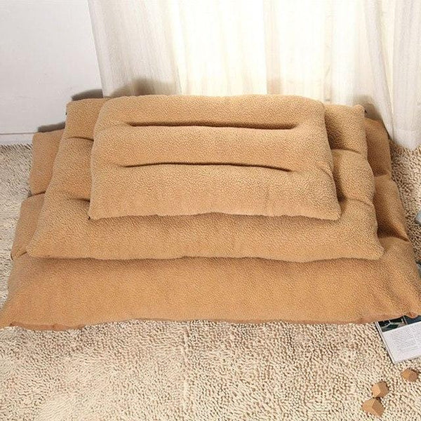 Cozy Firm Pet Sofa Bed Thickened Warm Washable Dog Beds for Large Dogs Good For Orthopedic - Pawsmeme.com