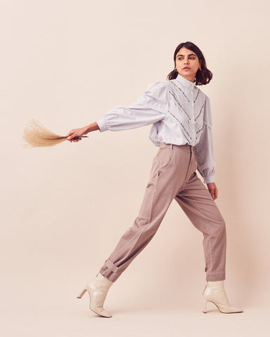 Harper Whimsy Blouse + Sage Adaptive Pant