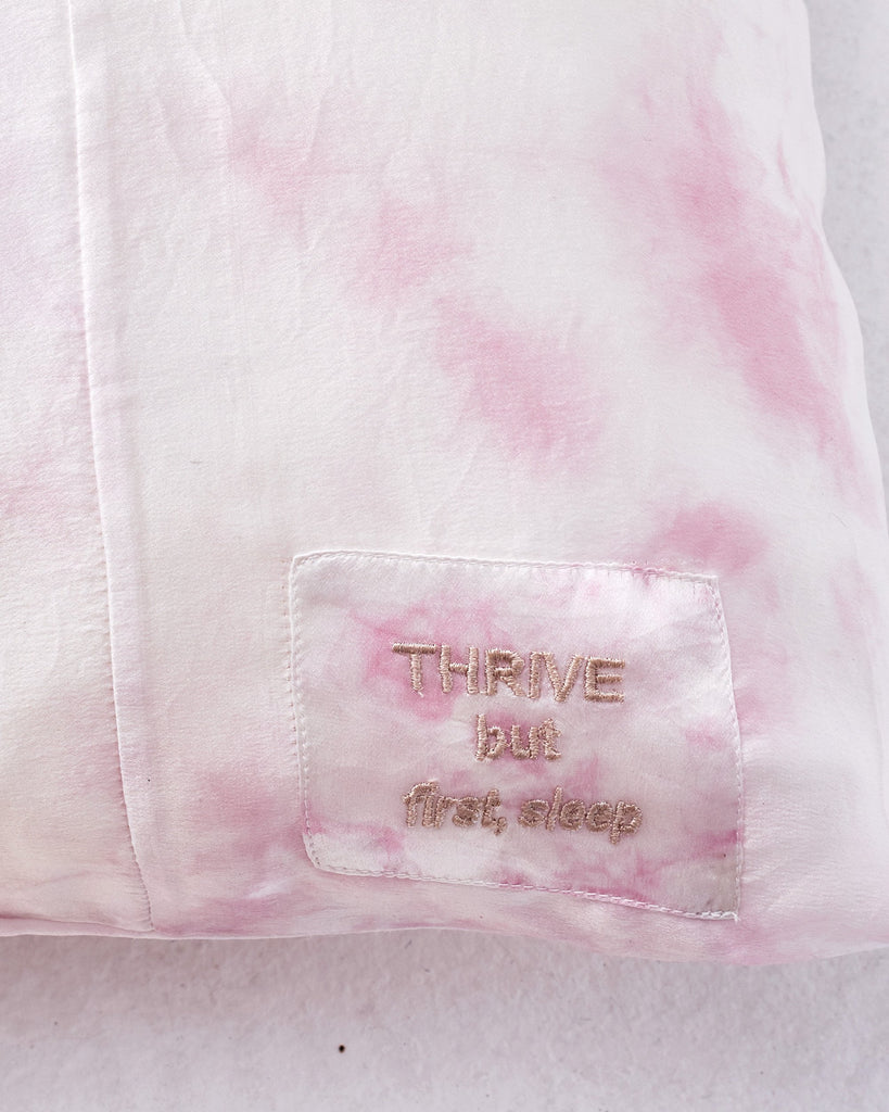 The Thrive Silk Pillowcase