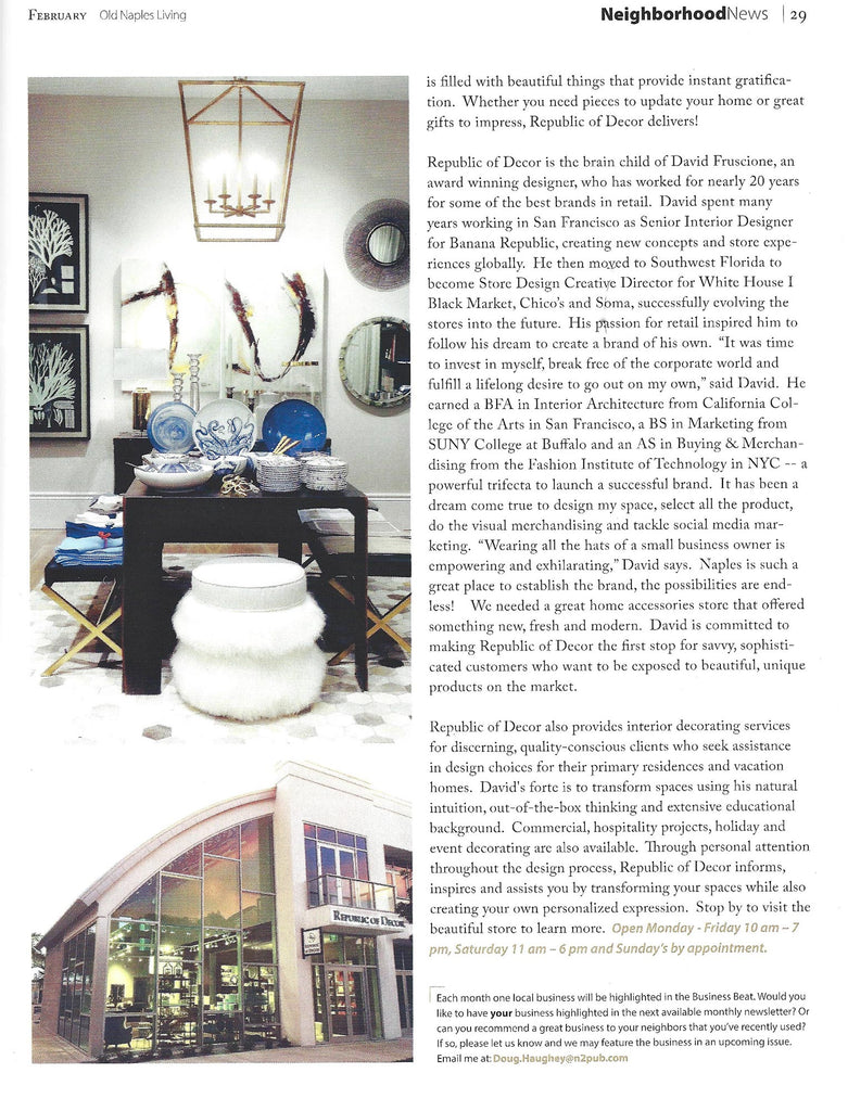 Old Naples Living Feature Feb 2016