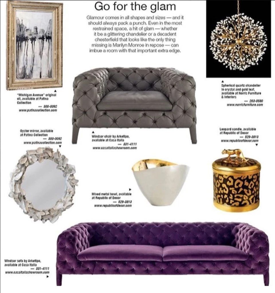 Luxe Living Glam Feature