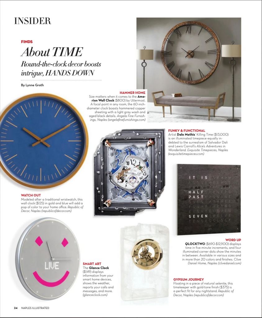 Time Piece Feature