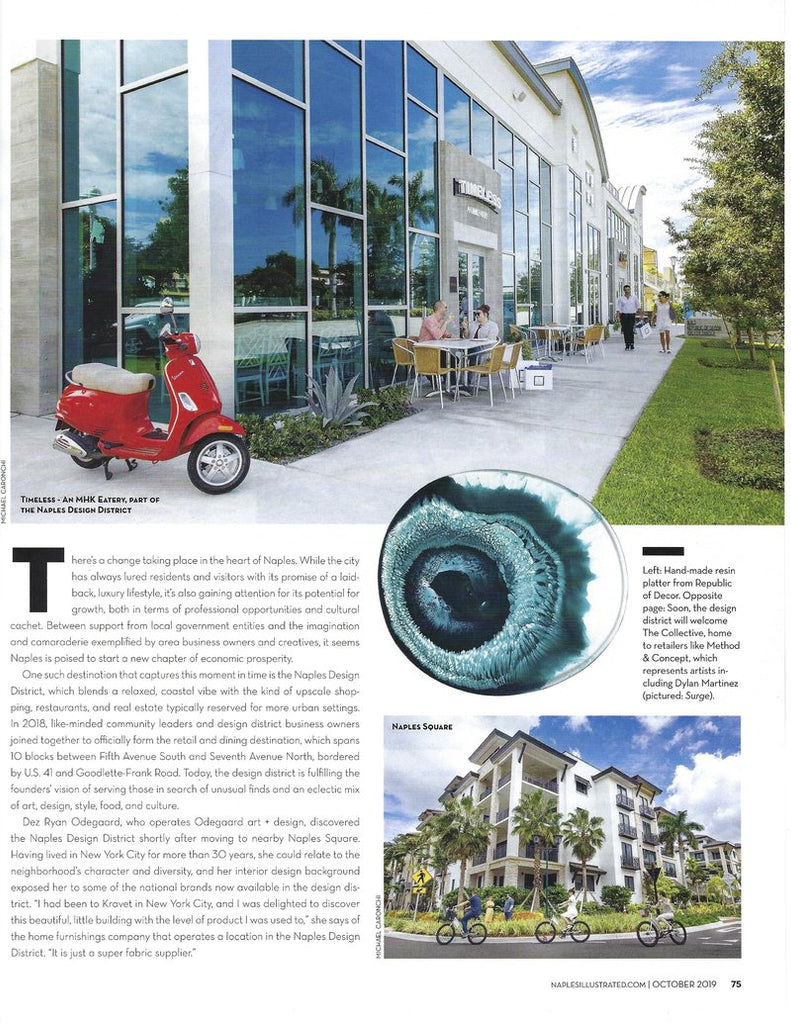 Naples Design District Feature
