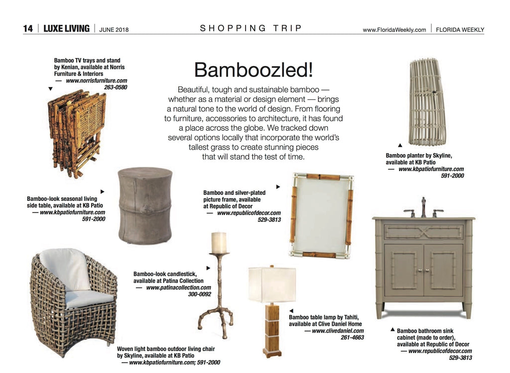 Luxe Living Bamboo Feature