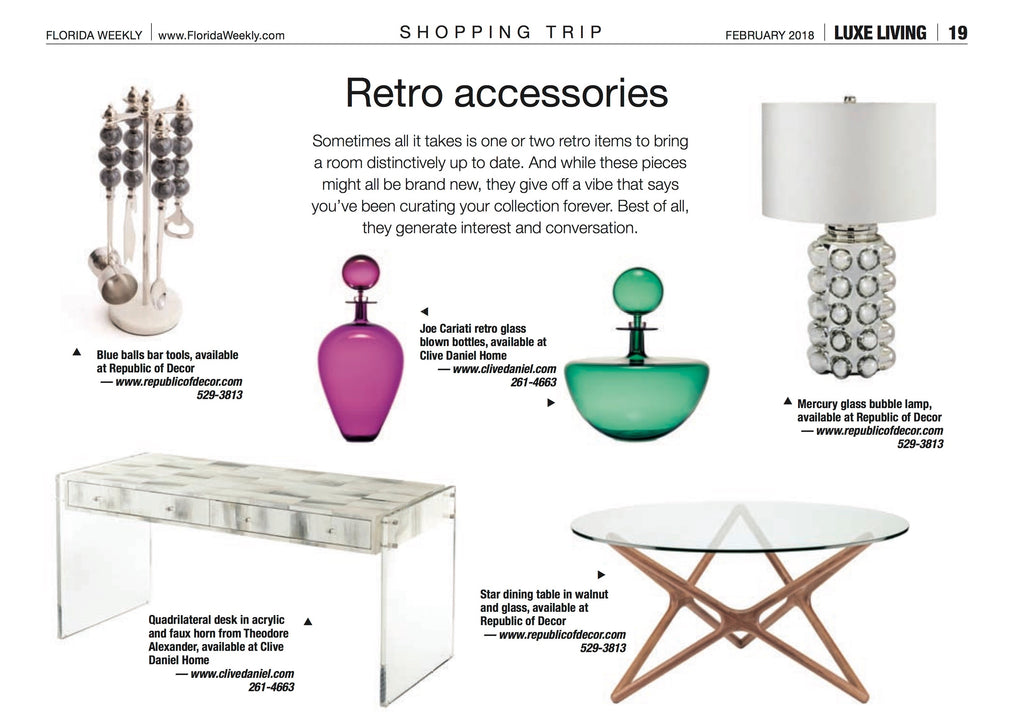 Luxe Living Retro Feature