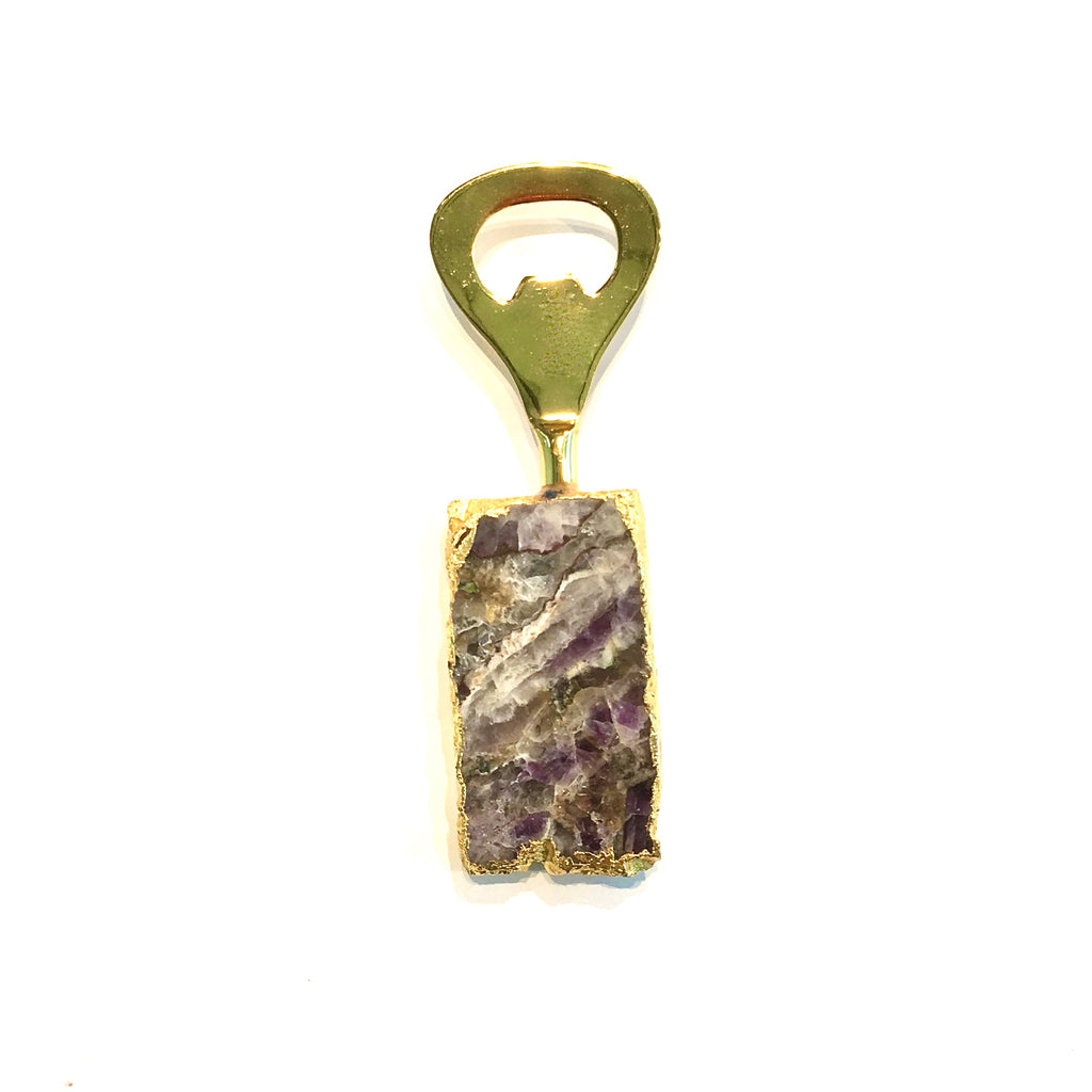 Amethyst Bottle Opener