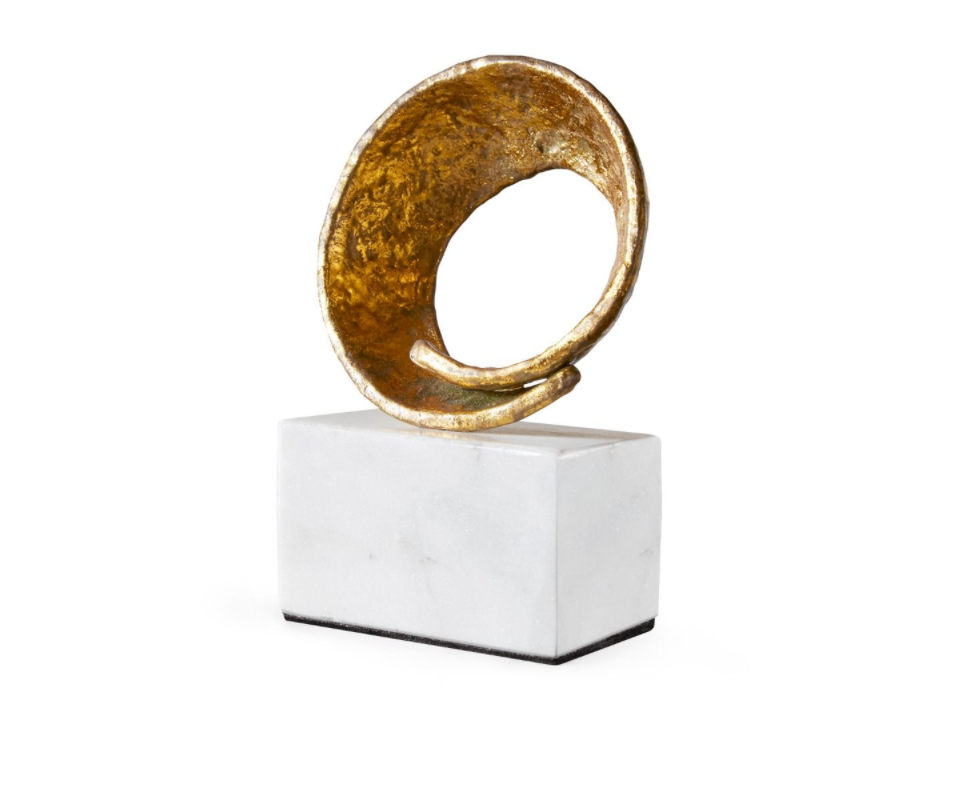 Gold Ring Sculpture