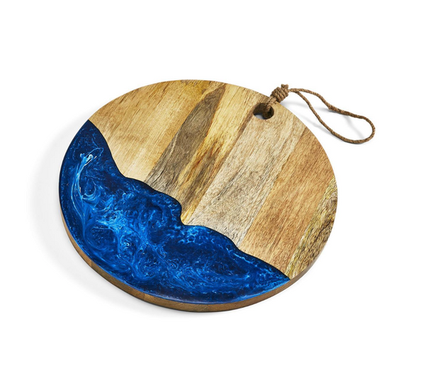 Blue Splash Serving Board