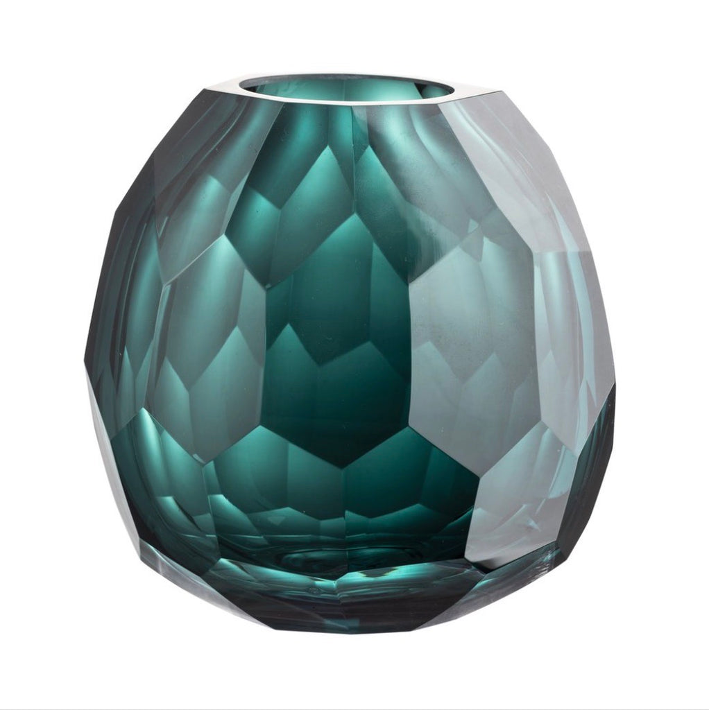 Emerald Jewel Vase