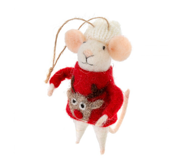 Reindeer Sweater Mouse