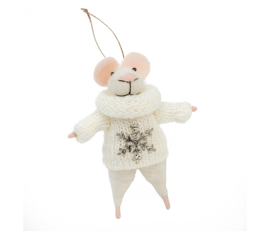 Snowflake Sweater Mouse