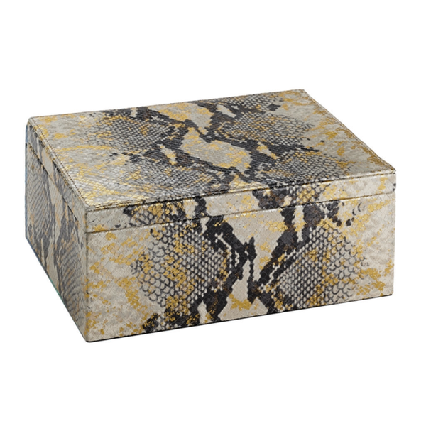 Large Gold Python Box