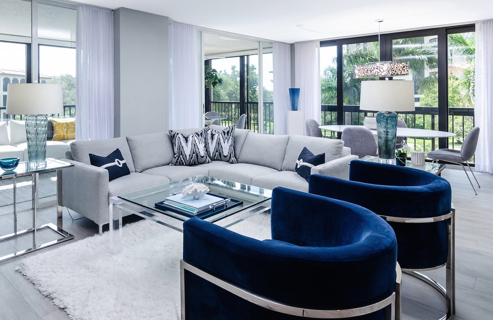 Living Room Interior Design Naples Florida