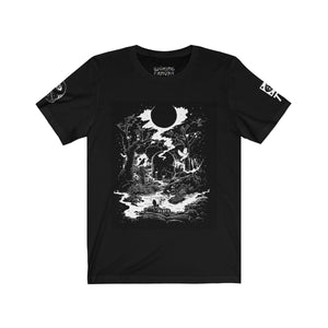 Open image in slideshow, 'Death Tarot Card' Unisex Premium Jersey Tee