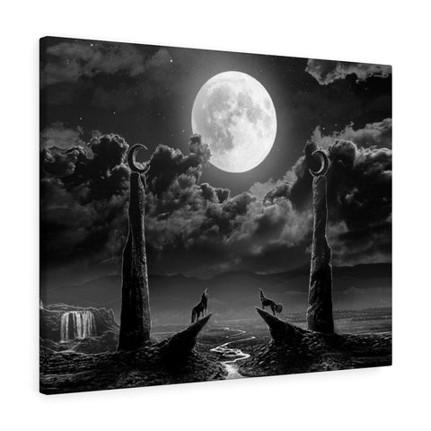 'The Moon Deluxe' Canvas Gallery Wrap