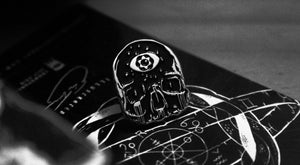 'THIRD EYE SKULL' PIN