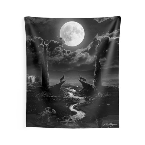 'The Moon Deluxe' Indoor Wall Tapestry