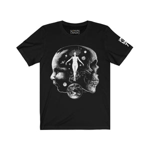 Open image in slideshow, 'Life & Death' Unisex Jersey Tee