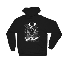 Load image into Gallery viewer, 'DEATH TAROT CARD' Unisex Fleece Hoodie