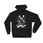 'DEATH TAROT CARD' Unisex Fleece Hoodie