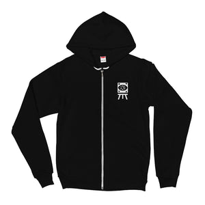 Open image in slideshow, 'ASTRO LIGHT' Premium Zip-Up Hoodie by Waking Canvas